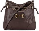 Gucci 1955 Horsebit Shoulder Bag in Cocoa | FWRD