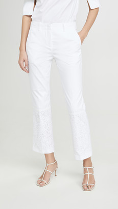 No.21 Crop Flare Trousers