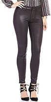 Jessica Simpson Kiss Me Faux-Suede Coated Skinny Jeans
