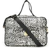 Roberto Cavalli leopard print changing bag