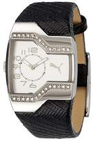 Puma Time Gents Watch Enticement PU101642003 Stones Silver