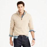 J.Crew Lambswool half-zip sweater