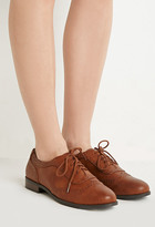 Forever 21 Faux Leather Brogues