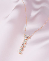 Ted Baker 9ct Rose Gold And Morganite Necklace