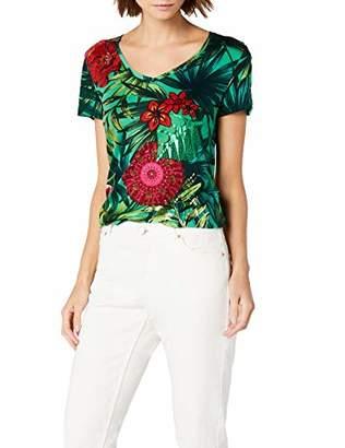 Desigual Women's Ts_carlyle T-Shirts,Medium