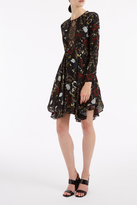 A.L.C. Cynthia Ruffled Hem Dress