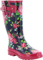 Western Chief Women's Nostalgic Floral Rain Boot