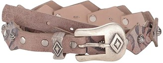 Leather Rock Brady Belt (Hazel) Women's Belts