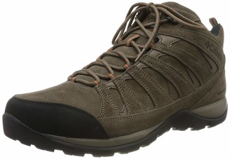 Columbia Men's Redmond V2 LTR MID WP High Rise Hiking Boots Grey (Dark Grey Madd) 13 UK 47 EU