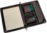 Royce Leather Deluxe Convertible Zip Around Binder/Folio 305-5