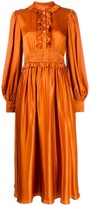 Temperley London ruffled detail dress