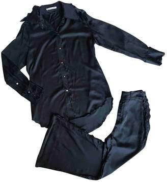 Acne Studios Black Viscose Jumpsuits