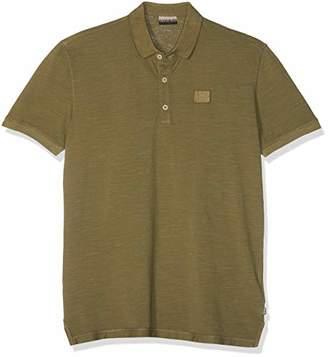 Napapijri Men's Erzin Polo Shirt, (New Olive Green Gd6)