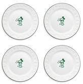 Disney Gourmet Mickey Mouse Dessert Plate Set - White/Green