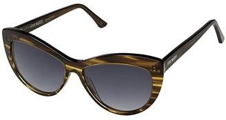 Steve Madden Acetate Cateye (Tokyo Tortoise) Fashion Sunglasses
