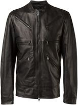 Vivienne Westwood Man - leather jacket - men - Sheep Skin/Shearling - 48