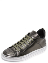 Maison Margiela Leather Lace Up Sneakers