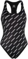 Vetements logo print bodysuit