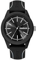 Reebok Black Dial Silicone Strap Watch