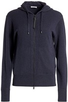 Brunello Cucinelli Monili Zip Cashmere Track Jacket