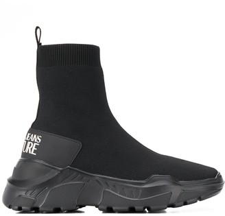 Versace Ankle Sock Sneakers