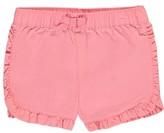 Carter's Baby Girls' 'Ruffle Dolphin - Twill' Short Shorts - pink, 24 months