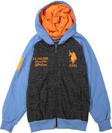U.S. Polo Assn. Blue & Orange Hoodie - Boys