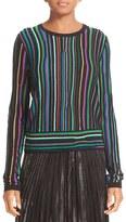Diane von Furstenberg Women's Arisha Nep Stripe Sweater