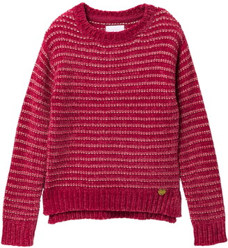 BCBGirls Striped Knit Sweater