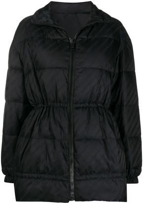 Givenchy Chain logo-print puffer jacket