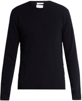 Valentino Rockstud-trimmed cashmere sweater