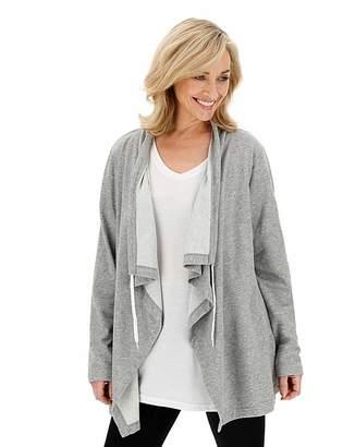 Capsule Leisure Grey Marl Waterfall Jacket