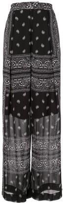 Dion Lee Bandana-Print Sheer Trousers