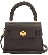Miu Miu Grained-leather shoulder bag