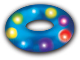 Pool Candy & Sounds Candy Illuminated Pool Tube
