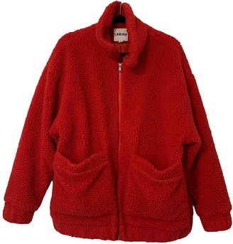 I.AM.GIA Red Cotton Coats