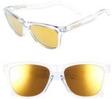 Oakley Women's Frogskins 55Mm Sunglasses - Blue