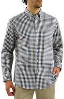 Haggar Long Sleeve Flannel Check Shirt