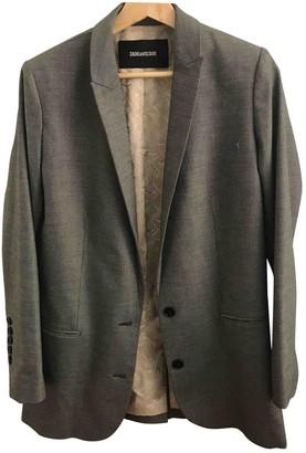 Zadig & Voltaire Grey Jacket for Women