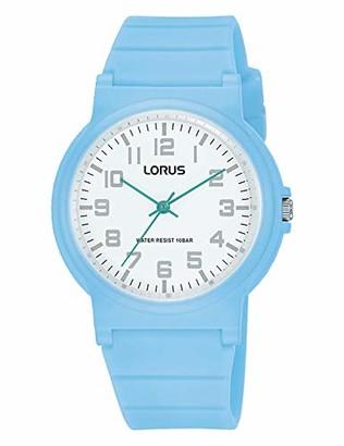 Lorus Boy's Analogue Quartz Watch with Silicone Strap RRX37GX9