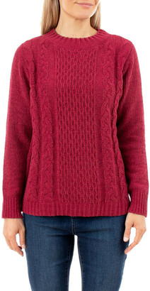 Jump Chenille Cable Pullover