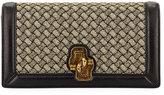 Bottega Veneta Olimpia Intrecciato Wool Clutch Bag