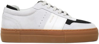 Axel Arigato Color-block Mesh-trimmed Suede And Leather Platform Sneakers