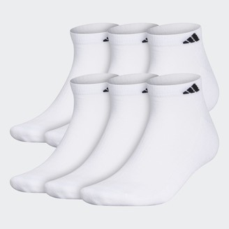adidas Athletic Cushioned Low-Cut Socks 6 Pairs XL