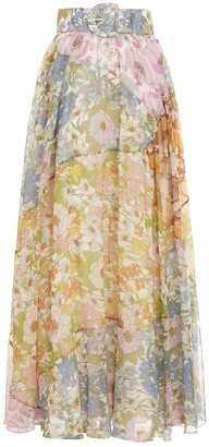 Zimmermann Super Eight Maxi Skirt