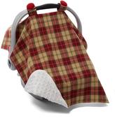 Red Tartan Car Seat Cover