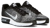 Nike Black and Silver Air Max Sequent 2 Junior Trainers