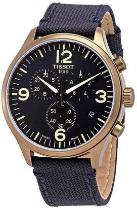 Tissot Chrono Quartz Black Dial Men's Watch T116.617.37.057.01