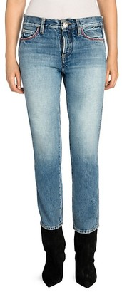 Alanui Multicolor Embroidery Skinny Jeans