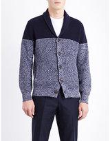 Brunello Cucinelli Two-tone Cotton Cardigan